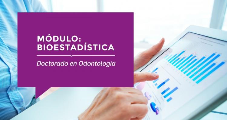 Se acerca el Módulo Bioestadística para los Doctorandos de la FO