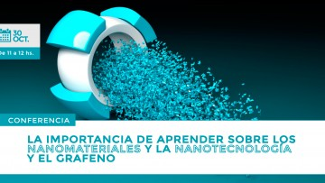 ¡Nueva conferencia gratuita sobre Nanomateriales y Nanotecnología!