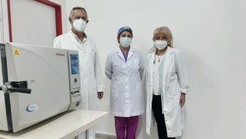 ¡Se adquiere un nuevo Autoclave de esterilización en la FO!