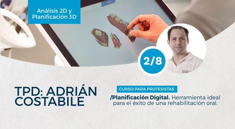 """Se dictará el Curso  """"Planificación Digital: Herramienta ideal para el éxito de una rehabilitación oral"""""""