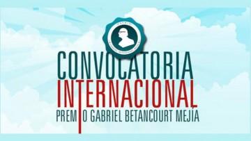 Premio Gabriel Betancourt Mejía