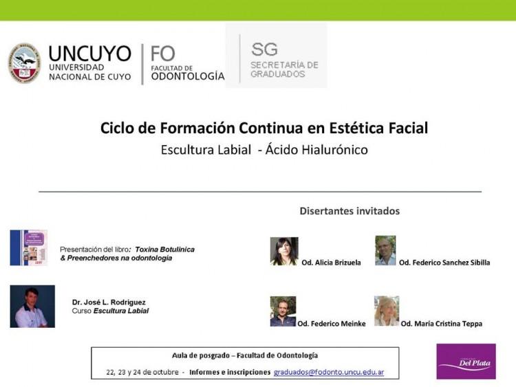 Ciclo de Formación Continua en Estética Facial