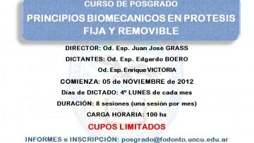 PRINCIPIOS BIOMECANICOS EN PROTESIS FIJA Y REMOVIBLE