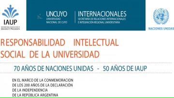 Responsabilidad intelectual social de la universidad