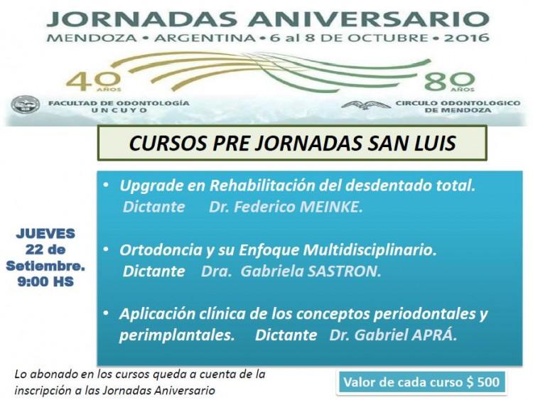 San Luis - Jueves 22 Septiembre