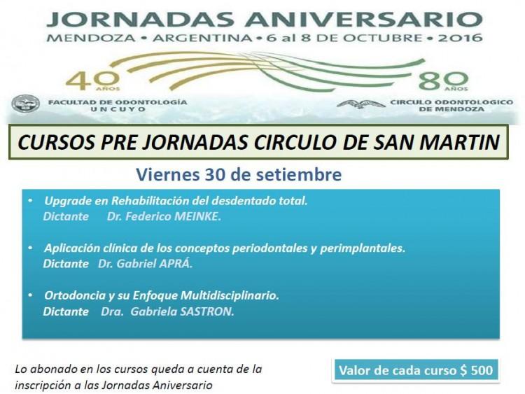 San Martín - Viernes 30 Septiembre