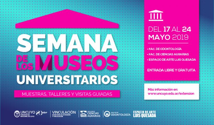 La FO, UNCUYO se suma a la semana de los museos 2019