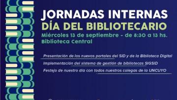 Horario especial de Biblioteca, por el Día del Bibliotecario