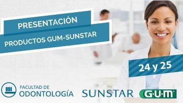 ¡El Laboratorio GUM/SUNSTAR presenta su línea preventiva de productos en la FO!