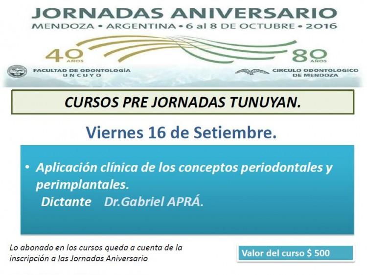 Tunuyán - Viernes 16 Septiembre