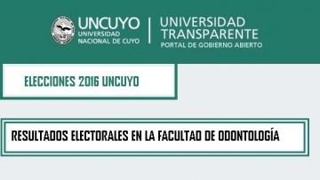 ELECCIONES UNIVERSITARIAS 2016