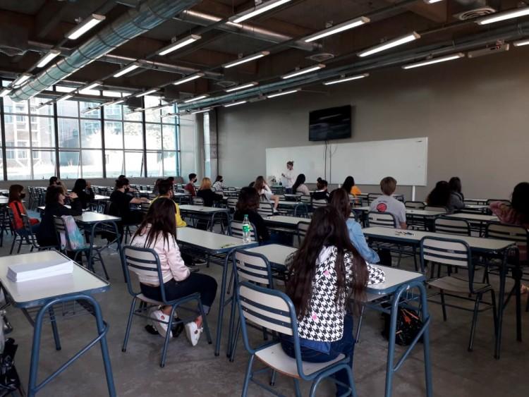 Los aspirantes al ingreso 2021, tuvieron su primer examen