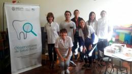 El Observatorio de Salud Bucal visitó el jardín maternal