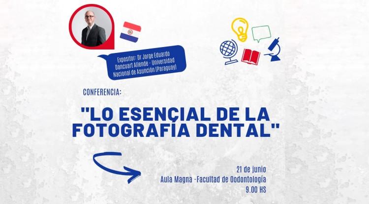 Especialista Internacional dará una Conferencia sobre Fotografía Dental